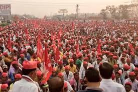 Seeking Mumbai Thousands Of Farmers March To Mumbai Seeking Government Aid Arn
