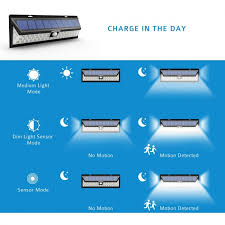 mpow solar light instructions 54 led solar lights outdoor solar power lights with 120 wide angle