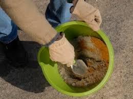 Mortar Mix For Patio Laying A Patio