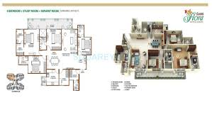 1300 sq ft floor plans 2 bhk 1300 sq ft apartment for sale in shree vardhman flora at