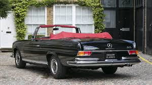 classic mercedes convertible rare and lovely rhd 1970 mercedes 280 se 3 5 cabriolet for sale