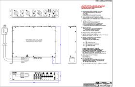 wall mount pdu pulizzi pc975 3393 3 phase 2u 208v epo pdu bomara associates