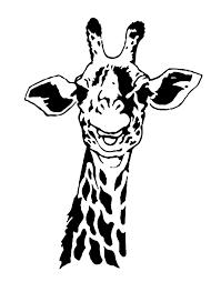 vinyl wall art decal sticker giraffe neck for kids room 145