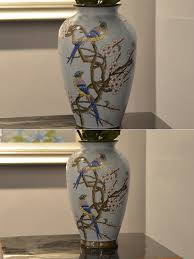 Design For Vase Painting 2017 Wholesale Antique Ceramic Flower Vases Painting Designs Show