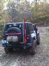 aev jeep rear bumper aev rear tire carrier jeepforum com