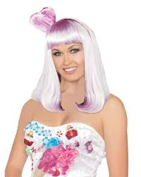 candy purple wig u2013 spirit halloween concert costumes