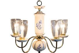 Blue Delft Chandelier Blue And White Porcelain Chandelier Janney S Collection