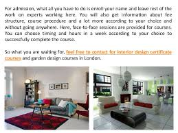 Interior Decoration Courses Fees Get Admission In Interior Design Certificate Courses In London