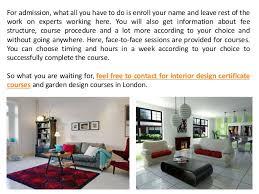 Interior Designer Course by Get Admission In Interior Design Certificate Courses In London