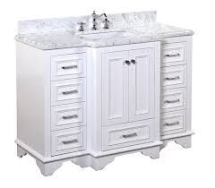 Bathroom Vanity Houzz by Kitchen Bath Collection Kbc1248wtcarr Nantucket Bathroom Vanity