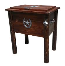 Wooden Outdoor Tables Furniture Wooden Patio Cooler Cart With Wheels For Pretty Outdoor