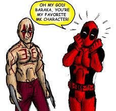 Baraka Halloween Costume Baraka Wolverine Op Battles Comic Vine