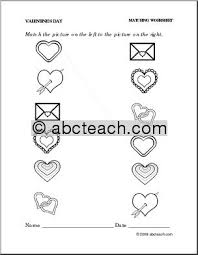 14 best images of valentine u0027s day worksheets for preschool free