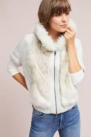 fur sweater hooded faux fur sweater anthropologie