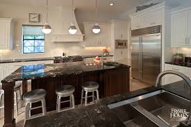 gourmet kitchen island crate and barrel spin counter stools transitional kitchen
