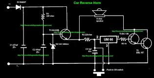 car reverse horn all about wiring diagram