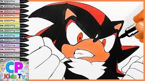shadow from sonic the hedgehog coloring pages 9 sonic the