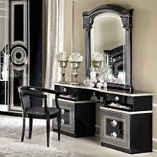Mirrored Vanity With Drawers White Vanity Dresser With Mirror Beauty Vanity Dresser With