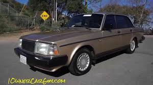 classic volvo sedan 1990 volvo 240 dl review brick de luxe 240dl classic car preview