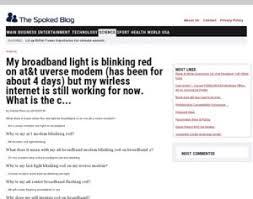Modem Internet Light Blinking Att Uverse Service Light Red Iron Blog