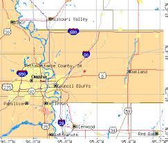 map of iowa towns pottawattamie county iowa detailed profile houses estate