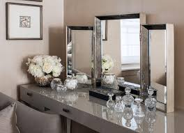 Mirrored Furniture Bedroom Set Bayswater Family Home Dressing Table Interior Design By