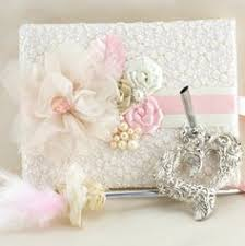 wedding guest book and pen set wedding guest book and pen set signature book in ivory and