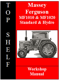 massey ferguson 1010 u0026 1020 workshop service repair manual cd