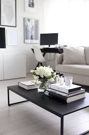 White Painted Coffee Table by Living Room Astonishing Living Room Table Decor For Home Interior