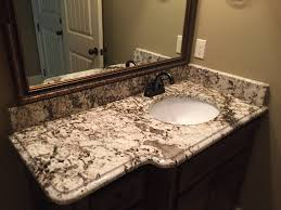 Mirrored Bathroom Vanities Bathroom Elegant Bathroom Vanity Countertops With Immaculate