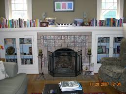 interior handsome living room decoration using glossy stone tile