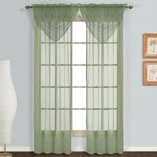 Discounted Curtains Amazon Com United Curtain Monte Carlo Sheer Window Curtain Panel