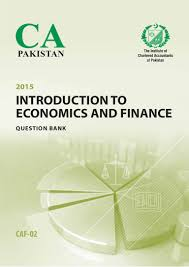 caf2 intorduction to economics and finance questionbank