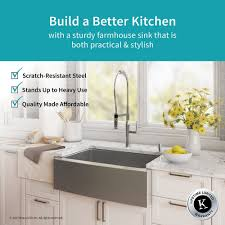where are kraus sinks made kraus 30 farmhouse sink with nola commercial faucet soap