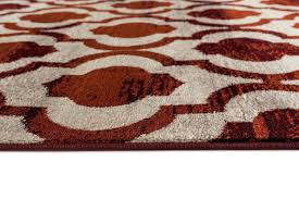 beverly hills red distressed moroccan trellis area rugs 5x8