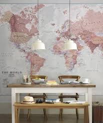 17 Cool Ideas For World Map Wall Art Live DIY Ideas
