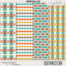 southwestern designs patterns