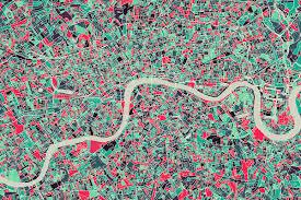 this kickstarter turns metropolitan areas into works of abstract