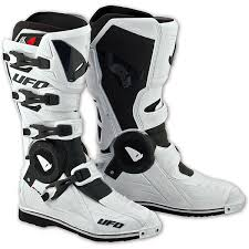 white motocross boots ufo recon motocross boots white md racing products
