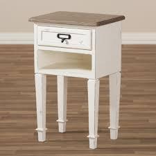 weathered oak vanity baxton studio dauphine provincial style weathered oak and white