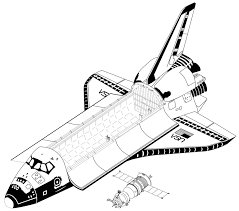 869px space shuttle vs soyuz tm to scale drawing png