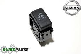 nissan frontier oem parts 2008 2015 nissan xterra pro 4x off road lamp switch button oem new