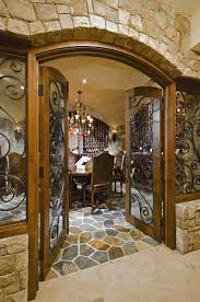french country wine cellar in potomac maryland bowa