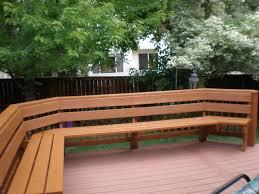 Wood Bench Plans Deck by Deck Storage Bench Ideas Diy Building Patio Design Custom Loversiq