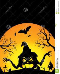 halloween poster stock photography image 6601272