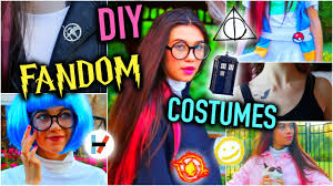 diy fandom last minute halloween costume ideas cheap and easy