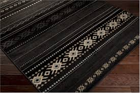 Black Area Rugs Surya Paramount Par 1047 Coal Black Safari Tan Light Grey Area Rug