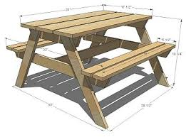 Plans For Picnic Table Bench Combo by Kids Picnic Table My Hubby U0027s Next Project I Love That He Can