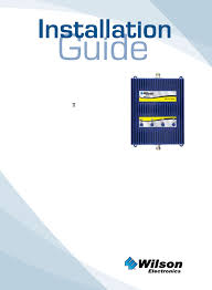 460004 model 460004 signal booster users manual users manual