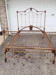 4 Foot Bed Frame Simmons Antique Vintage Iron Bed Frame Size Foot Board